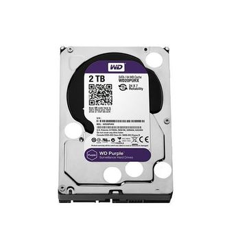HD Western Digital WD Purple Surveillance 2TB 64MB 5400RPM Sata III - WD20PURX