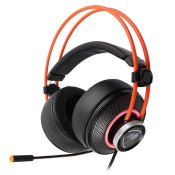 Headset Cougar Gamer Immersa Pro RGB LED - CGR-U50MB-700