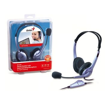 Headset Genius Stereo - HS-04S