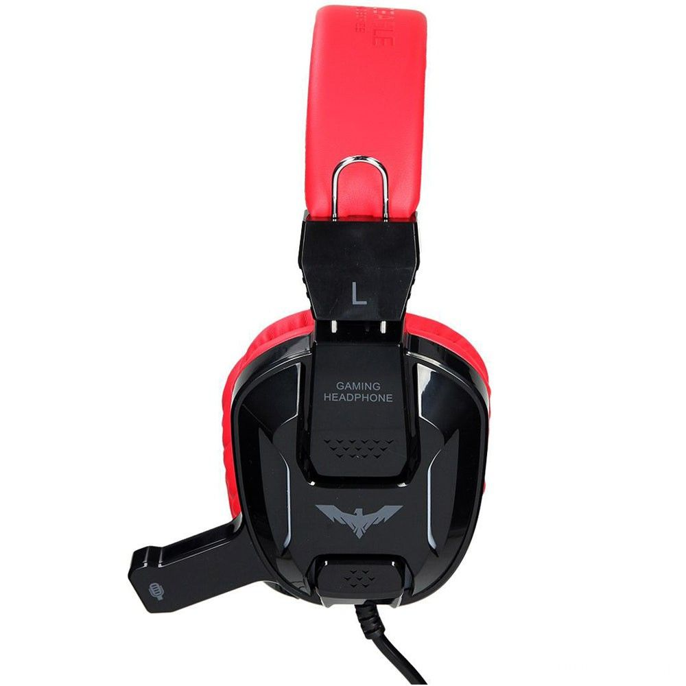 Headset Havit Gamer Black/Red - HV-H2168D