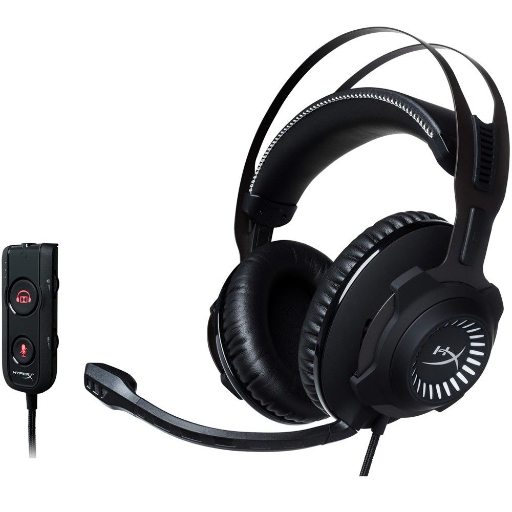 Headset Kingston HyperX Gamer Cloud Revolver S Pro Black - HX-HSCRS-GM/NA
