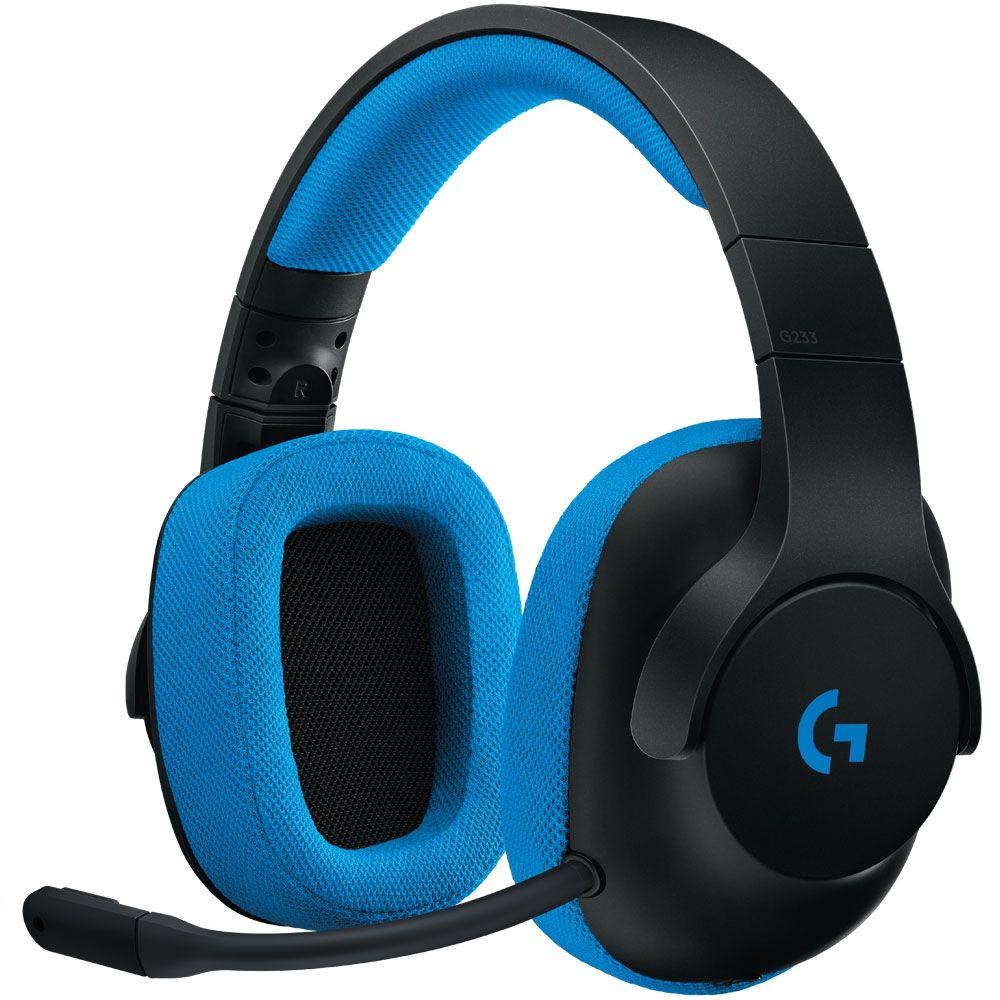 Headset Logitech Gamer G233 Prodigy - 981-000702