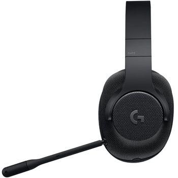 Headset Logitech Gamer G433 Black - 981-000667