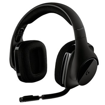 Headset Logitech Gamer G533 Wireless - 981-000633