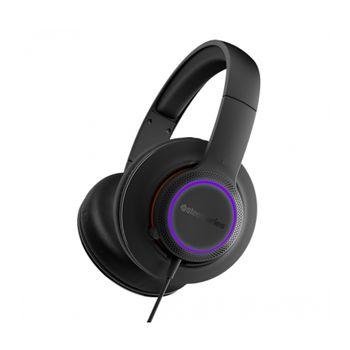 Headset SteelSeries Gamer Siberia 150 Black RGB LED - 61421