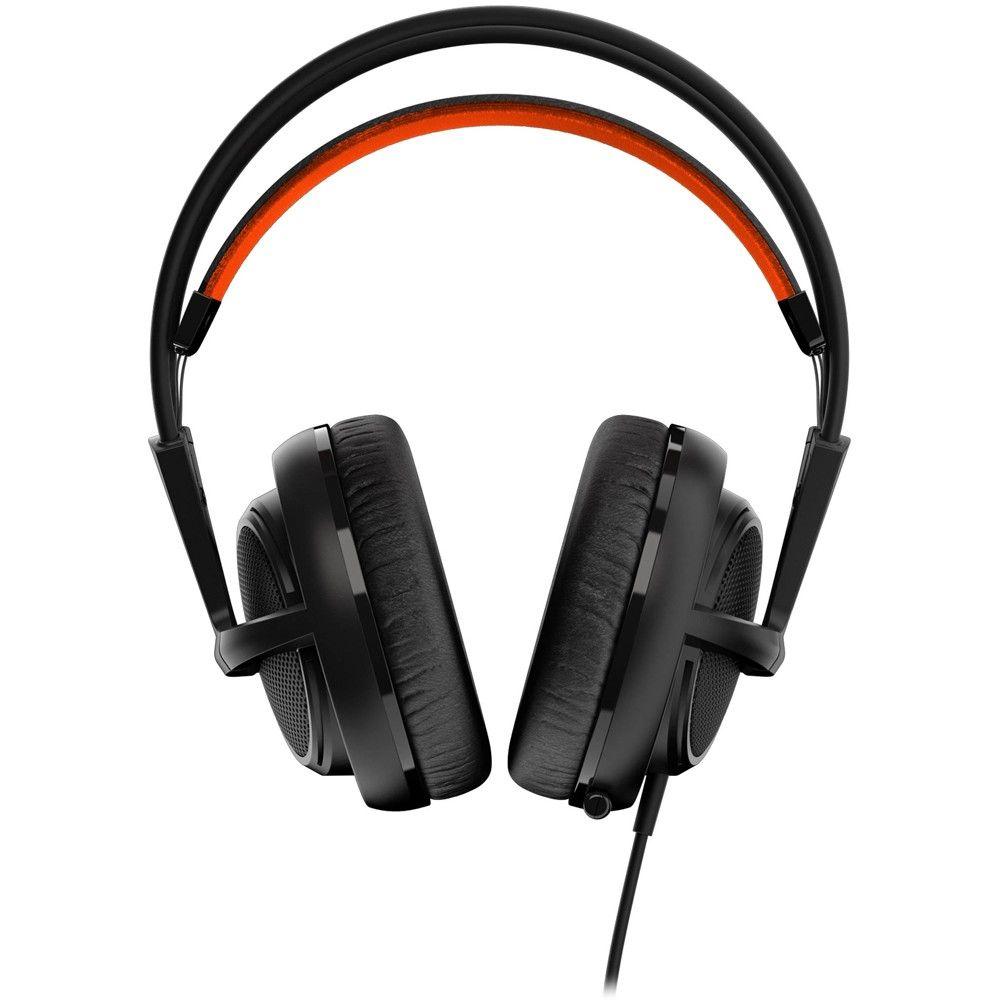 Headset SteelSeries Gamer Siberia 200 Black - 51133