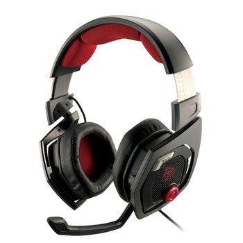 Headset Thermaltake Gamer eSports Shock 3D 7.1 Black/Red - HT-RSO-DIECBK-13