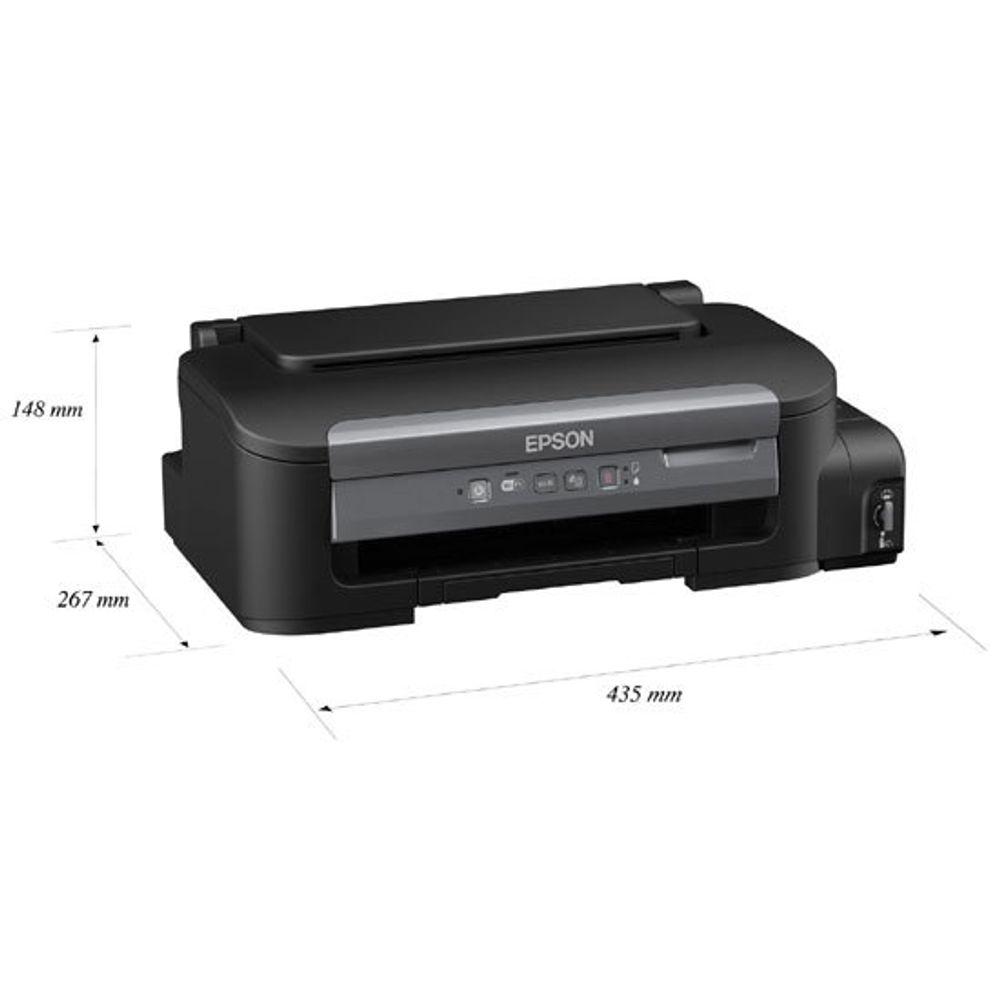Impressora Epson Ecotank Monocromática WorkForce M105 - C11CC85212