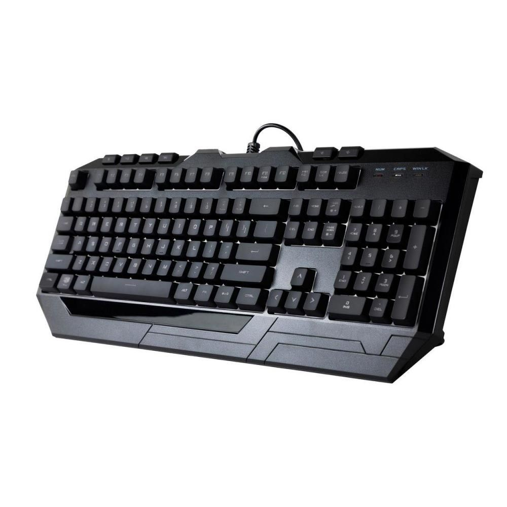 Kit Teclado e Mouse Cooler Master Gamer Devastator 3 MultiColor LED - SGB-3000-KKMF1-BR