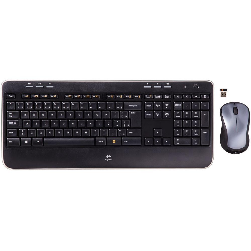 Kit Teclado e Mouse Logitech MK520 Advanced Wireless - 920-006334