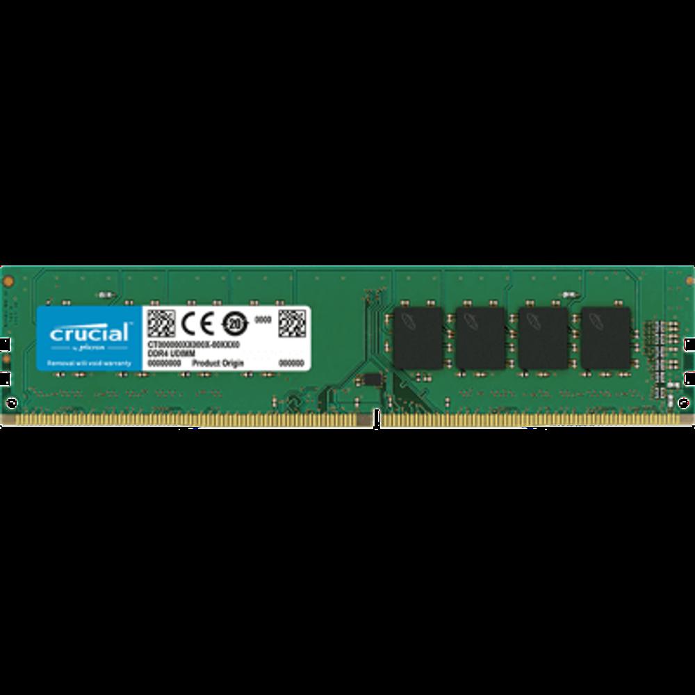 Memória Crucial 8GB DDR4 2400MHz (1x8GB) - CT8G4DFS824A