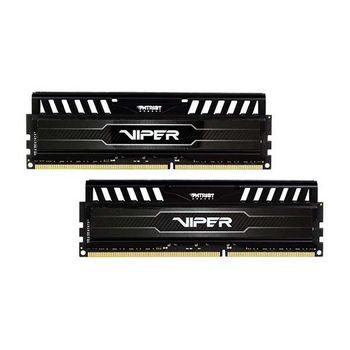 Memória Patriot Viper Black 16GB DDR3 1600MHz (2x8GB) - PV316G160C9K