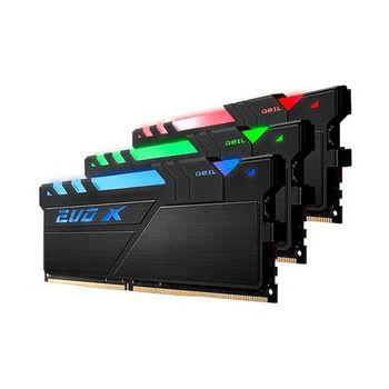 Memória Geil Evo X Black 16GB Memória Geil Evo X Black 16GB DDR4 2400MHz (1x16GB) RGB LED
