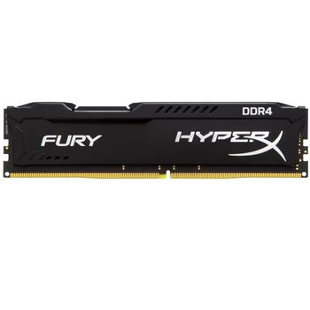 Memória Kingston HyperX Fury Black Series 16GB DDR4 2400MHz (1x16GB) - HX424C15FB/16
