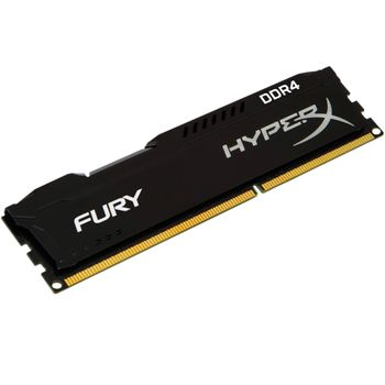 Memória Kingston HyperX Fury Black Series 4GB DDR4 2133MHz (1x4GB) - HX421C14FB/4