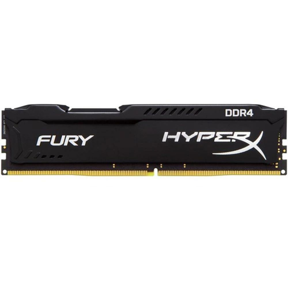 Memória Kingston HyperX Fury Black Series 8GB DDR4 2400MHz (1x8GB) - HX424C15FB2/8