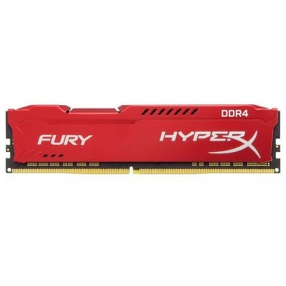 Memória Kingston HyperX Fury Red Series 8GB DDR4 2400MHz (1x8GB) - HX424C15FR2/8