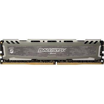 Memória Micron Ballistix Sport Grey 8GB DDR4 2400MHz (1x8GB) - BLS8G4D240FSBK