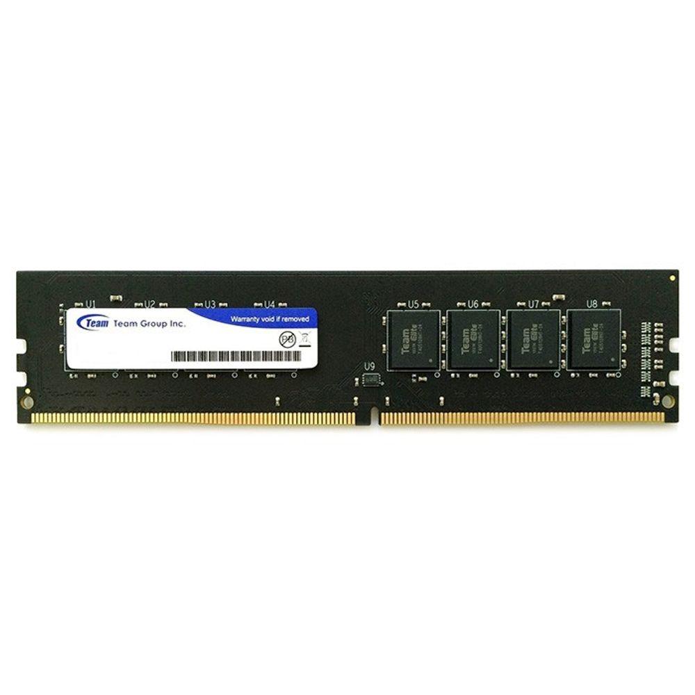 Memória Team Group Elite 8GB DDR4 2400MHz (1x8GB) - TED48G2400C16BK