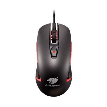 Mouse Cougar Gamer 400M Iron-Grey RGB LED - CGR-WOMI-400