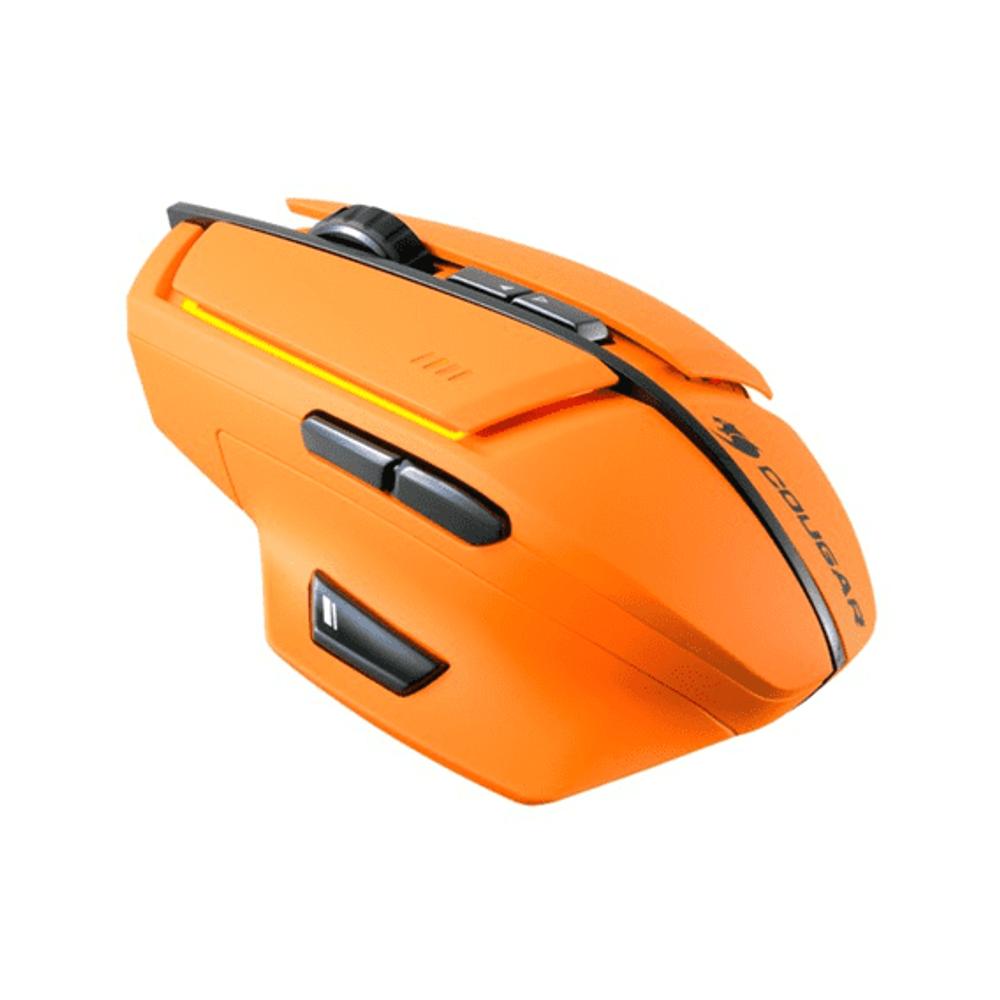 Mouse Cougar Gamer 600M Orange RGB LED - CGR-WLMO-600