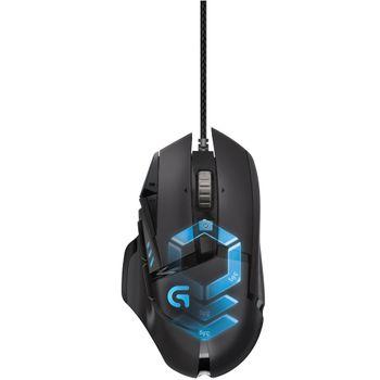 Mouse Logitech Gamer G502 Proteus Spectrum RGB LED - 910-004616