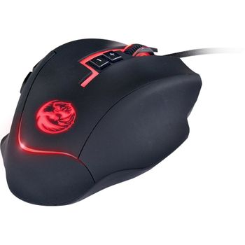 Mouse PCyes Gamer Lycan Black RGB LED - 24872