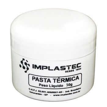 Pasta Térmica Implastec Thermal Silver 50g - 029063