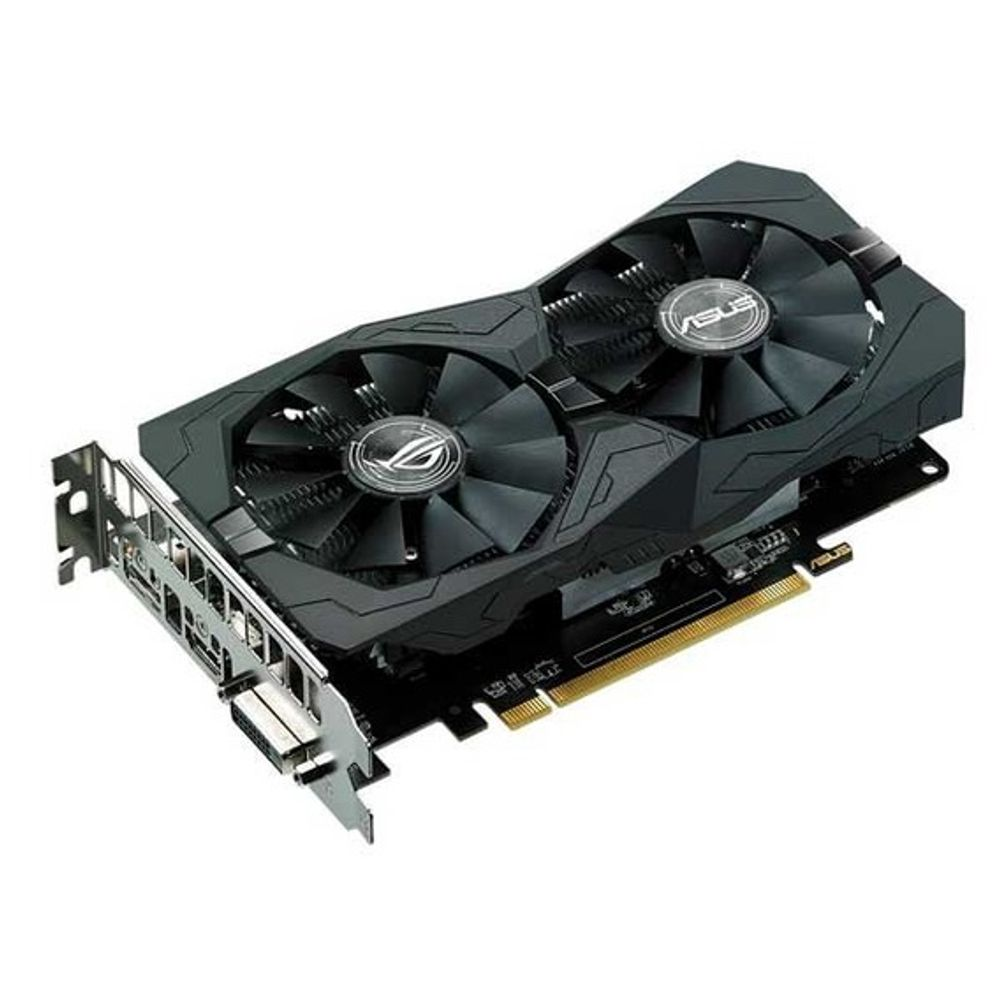 Placa de Vídeo Asus AMD Radeon RX 560 4GB GDDR5 ROG Strix Aura - ROG-STRIX-RX560-4G-GAMING