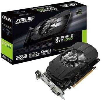 Placa de Vídeo Asus GeForce GTX 1050 2GB GDDR5 - PH-GTX1050-2G