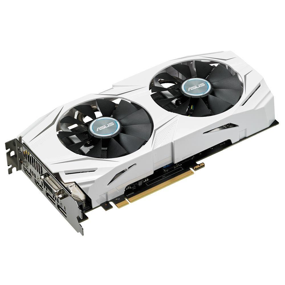 Placa de Vídeo Asus GeForce GTX 1070 8GB GDDR5 Dual OC - DUAL-GTX1070-O8G