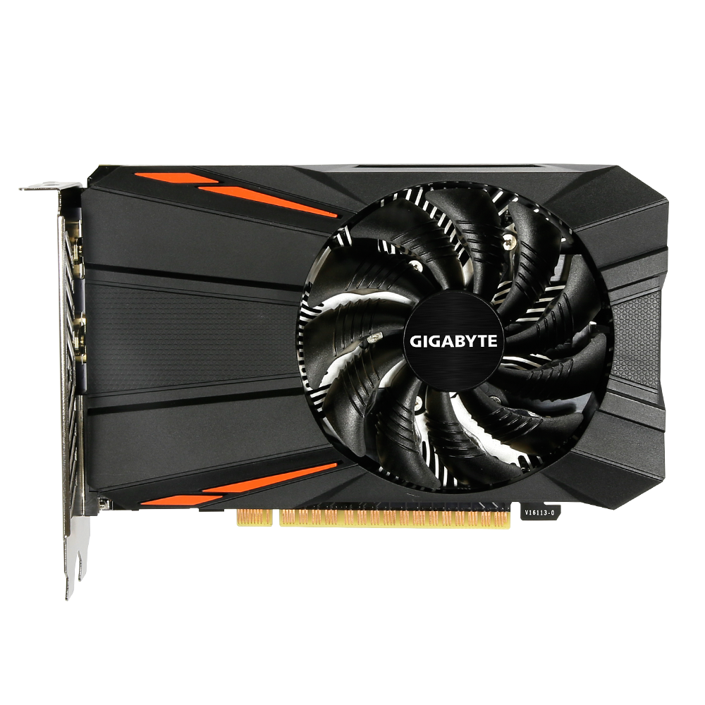 Placa de Vídeo Gigabyte GeForce GTX 1050 Ti 4GB GDDR5 - GV-N105TD5-4GD
