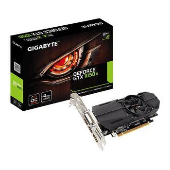 Placa de Vídeo Gigabyte GeForce GTX 1050 Ti 4GB GDDR5 OC Low Profile-GV-N105TOC-4GL