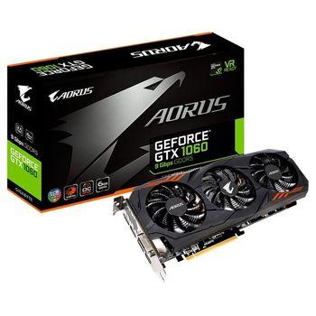 Placa de Vídeo Gigabyte GeForce GTX 1060 6GB GDDR5 Aorus OC - GV-N1060AORUS-6GD