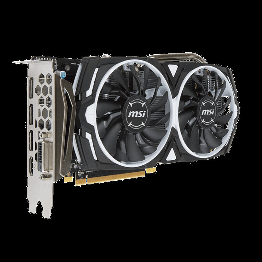 Placa de Vídeo MSI AMD Radeon RX 570 4GB GDDR5 Armor OC Edition - RX-570-ARMOR-4G-OC