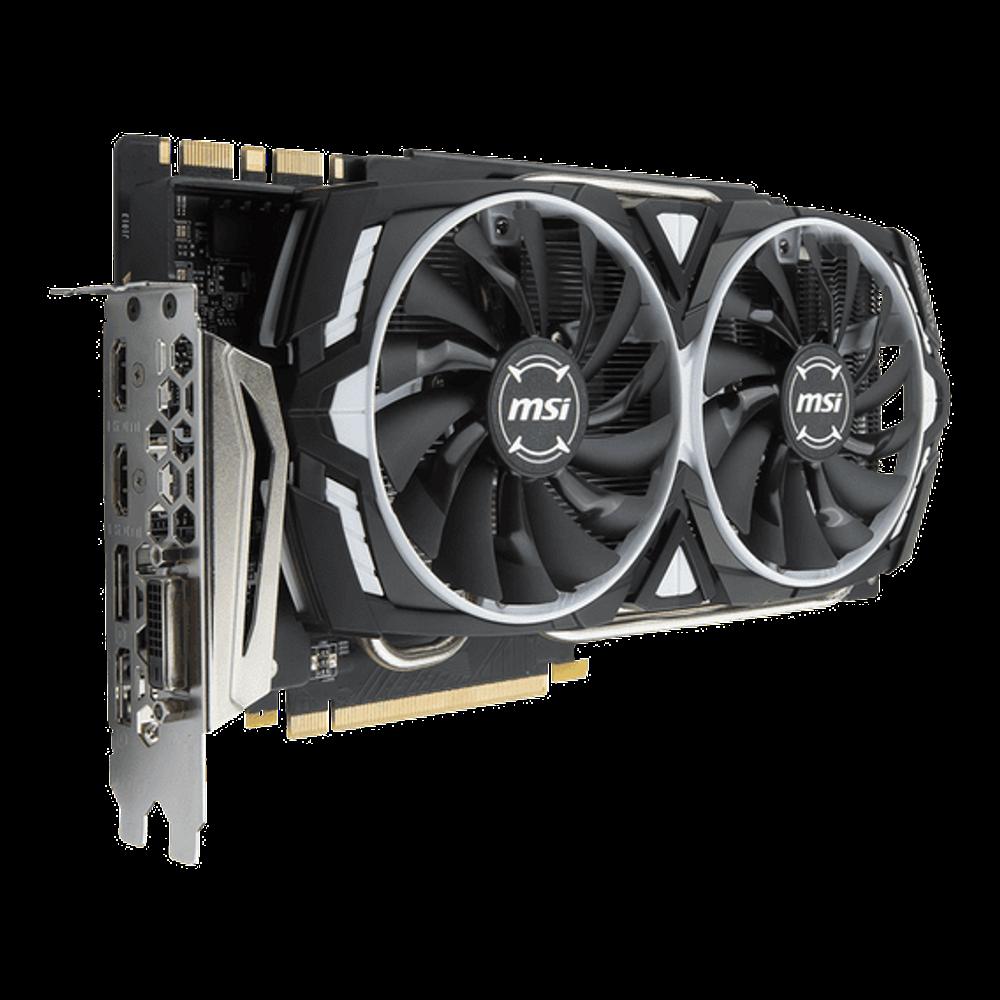 Placa de Vídeo MSI GeForce GTX 1080 Ti 11GB GDDR5X Armor OC - GTX-1080-TI-ARMOR-11G-OC