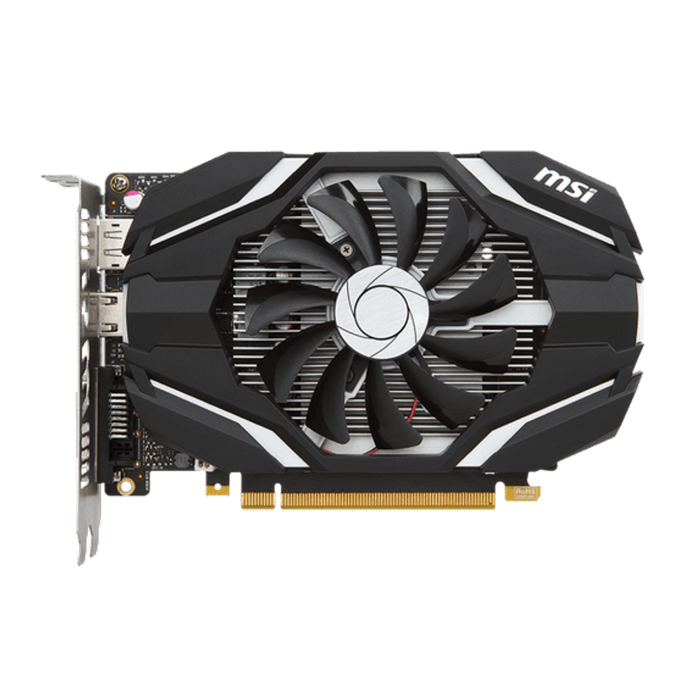Placa de Vídeo MSI GeForce GTX 1050 2GB GDDR5 OC - GTX-1050-2G-OC