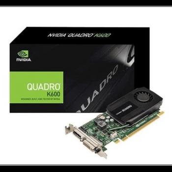 Placa de Vídeo PNY NVidia Quadro K600 1GB DDR3 - VCQK600-PB