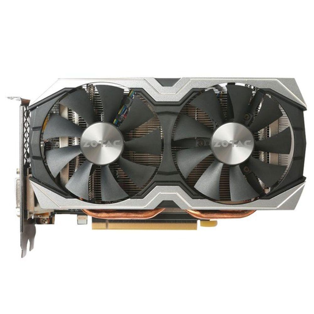 Placa de Vídeo Zotac GeForce GTX 1060 6GB GDDR5 AMP! Edition+ - ZT-P10600G-10M