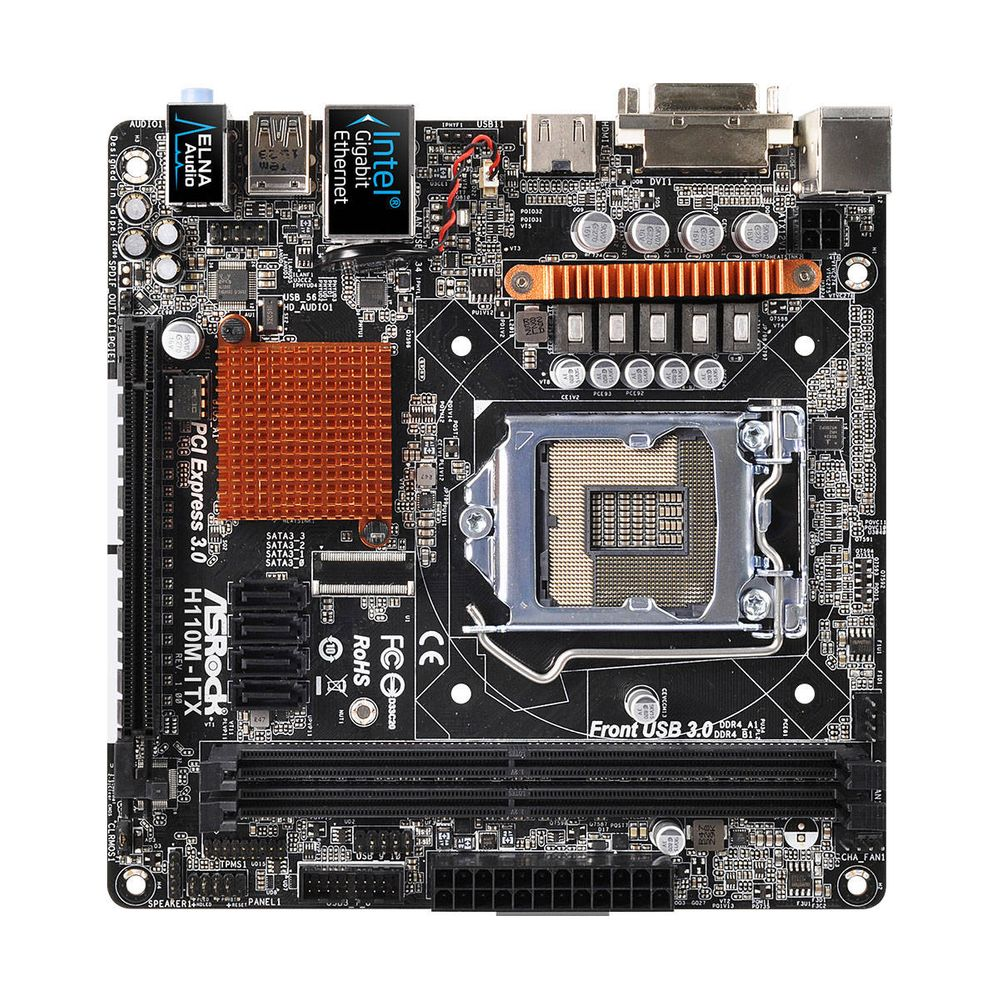 Placa Mãe ASRock H110M Mini-ITX - LGA1151