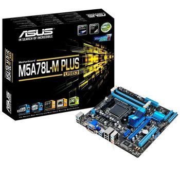 Placa Mãe Asus M5A78L-M Plus/USB3 - AM3+
