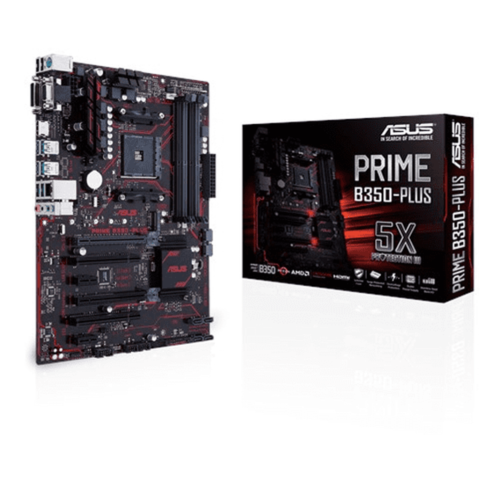 Placa Mãe Asus Prime B350-Plus - AM4