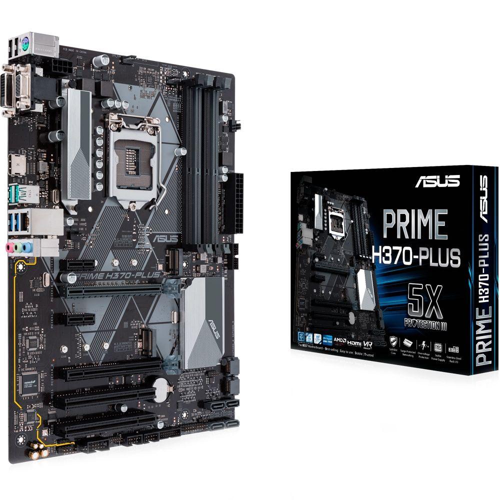 Placa Mãe Asus Prime H370-Plus - LGA1151