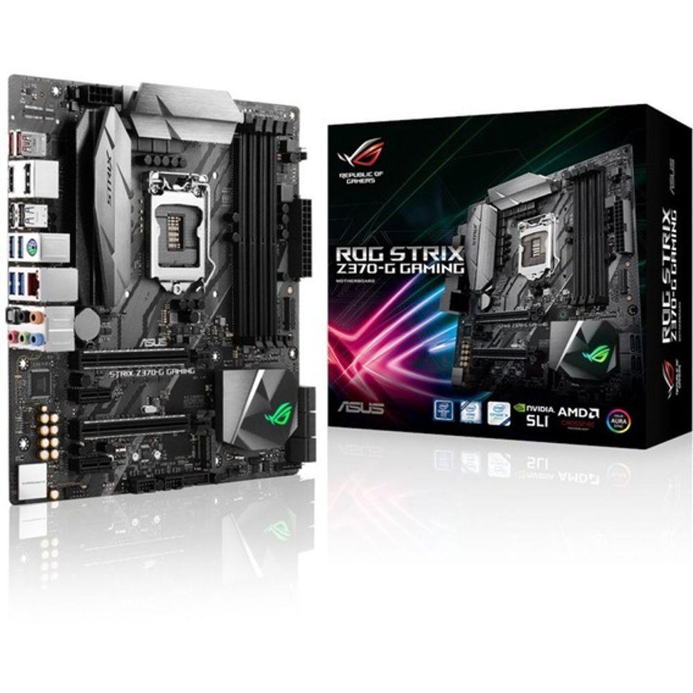 Placa Mãe Asus ROG Strix Z370-G Gaming Aura RGB - LGA1151