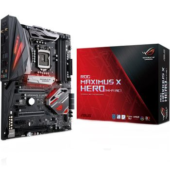 Placa Mãe Asus ROG Z370 Maximus X Hero (WiFi-AC) RGB LED - LGA1151