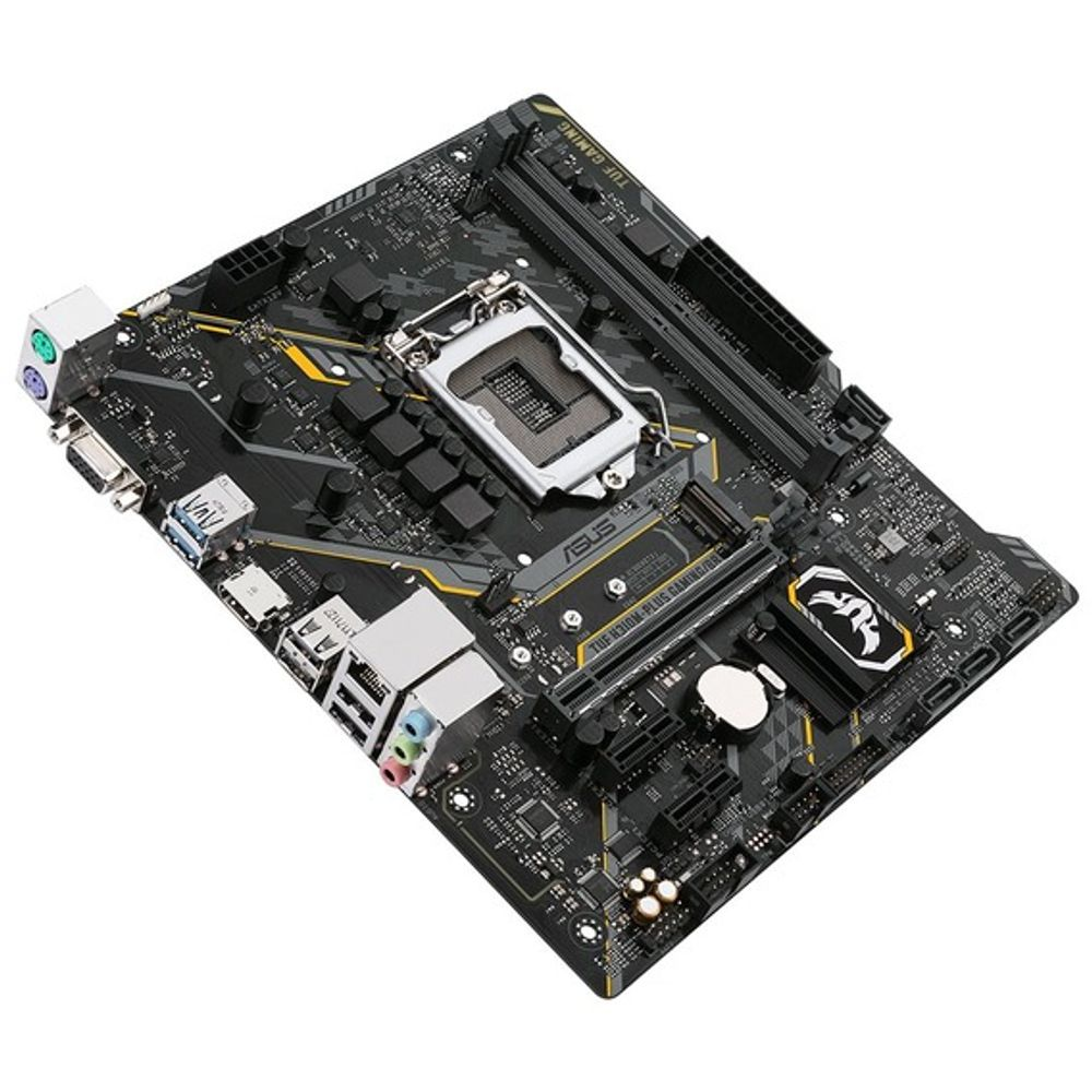 Placa Mãe Asus TUF H310M-Plus Gaming/BR RGB LED - LGA1151