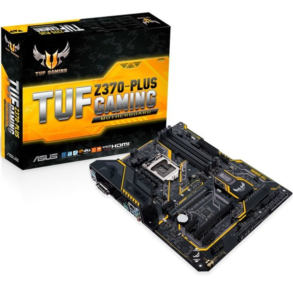 Placa Mãe Asus TUF Z370-Plus Gaming - LGA1151