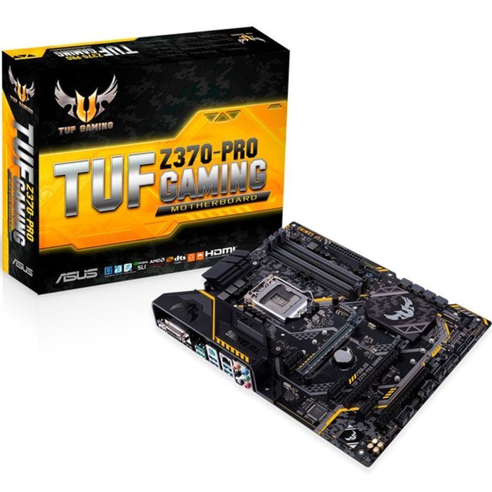 Placa Mãe Asus TUF Z370- Pro Gaming - LGA1151