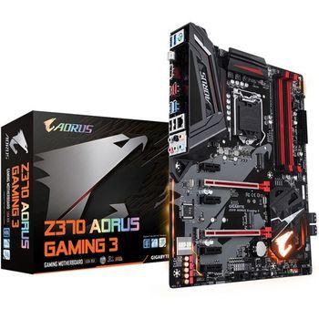 Placa Mãe Gigabyte Z370 Aorus Placa Mãe Gigabyte Z370 Aorus Gaming 3 RGB LED - LGA1151