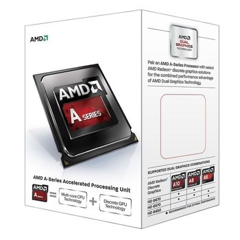 Processador AMD A4- 6300 3.9GHz - Socket FM2